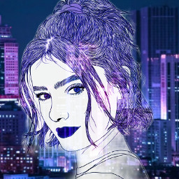 prettybaby purple freetoedit picsart