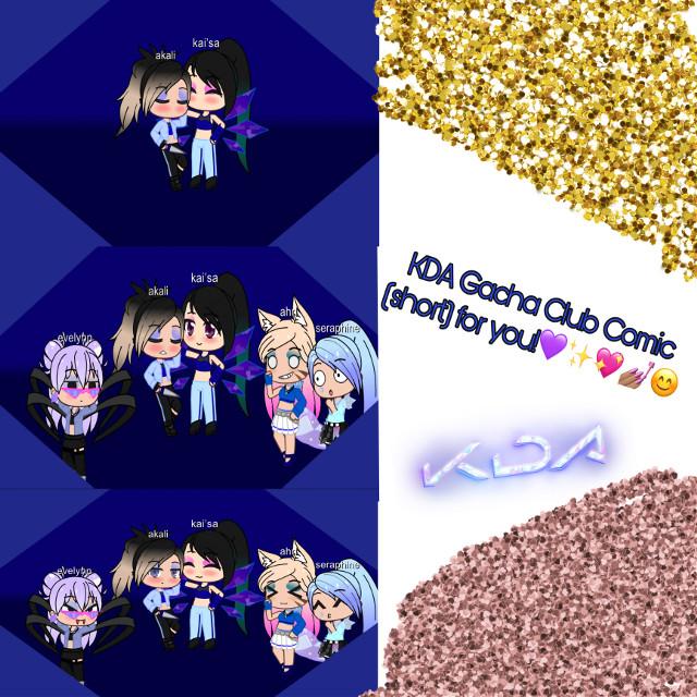 Hi im bored! 🙋🏽♀️also i tried...             Akali: we should not have kissed infront of them kai... #kdaakali #kdaahri #kdaevelynn #kdakaisa #kdaseraphine #ahrikda #akalikda #evelynnkda #kaisakda #seraphinekda #kda #kaisa #evelynn #ahri #akali #seraphine #ship #shipped #lesbian #girlfriends #gacha #gachaclub #comic #shortcomic #kda