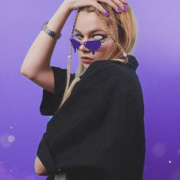 interesting art melting draw picsart newedit edit myedit girl woman purple freetoedit