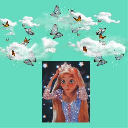 disney princess sky follow freetoedit