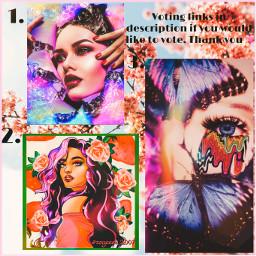 votinglinks challenge flowers eye girl strawberry bubblewrap butterflies freetoedit