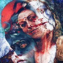 art collage artisticselfie freetoedit