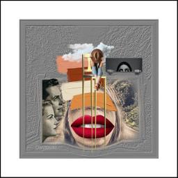 kolaż collage collageartwork collageartist kolażystka collageoftheday freetoedit srcsimplepaintsroke simplepaintsroke