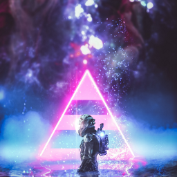 freetoedit astronot water river galaxy