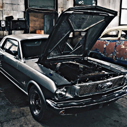 1960s ford mustang