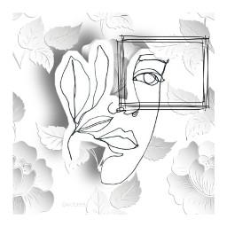 kolaż kolażystka collageartist collageartwork freetoedit srcoutlineportrait outlineportrait