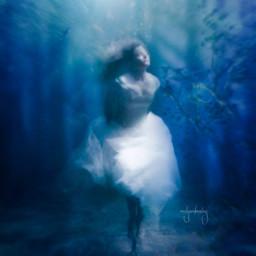 drowning hopeless sadness woman underwater picsartedit freetoedit unsplash