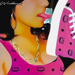 lastforeignqueen lfq foreign queen angel woodland shoes sneakers hightops platforms chain neckless jewelry