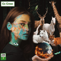 gogreen savetheworld savetheearth savetheplanet savetheanimals animals earth world rcearthday2021 earthday2021 freetoedit