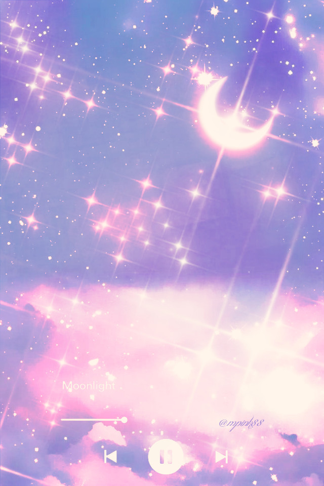 #freetoedit @mpink88 #glitter #sparkles #galaxy #nightsky #moonlight #fantasy #magical #cosmos #stardust #milkyway #purple #pink #stars #clouds #aesthetic #music #replay #overlay #background
