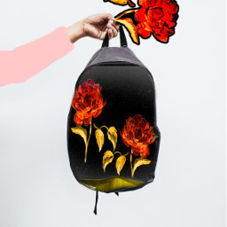 rosestickers fiteffect ircdesignthebackpack designthebackpack freetoedit