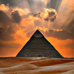 cielo piramide desert desierto arena desiertos arabe desiertoarabe desiertodelsahara piramidesegipto freetoedit
