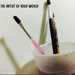 art createsomethingneweveryday artist brushes