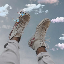 shoes vintage challenge clouds irccatchthevibe catchthevibe freetoedit