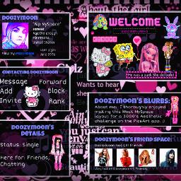 myspace layout 2000saesthetic cc2000saesthetic freetoedit y2k 2000s