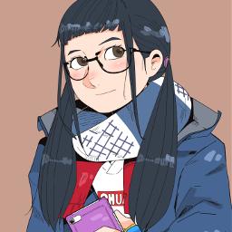 drawing girl yurucamp ゆるキャン freetoedit