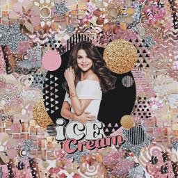 selenagomez aesthetic icecream edit cool freetoedit
