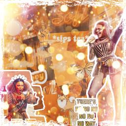 cathrineofaragon orange cathrine six sixthemusical sixfan sixthemusicaledit noway freetoedit