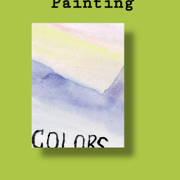 art watercolorpainting colors