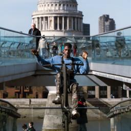 remix remixit replay replays interesting wheelie bike freetoedit magic nohands travel london photography blue