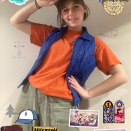 dipperpines gravityfalls cosplay freetoedit