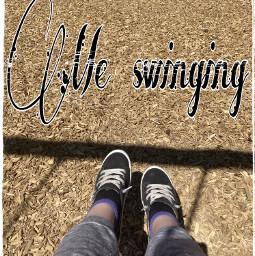 swinging me