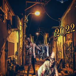 freetoedit scare zombies aliens street