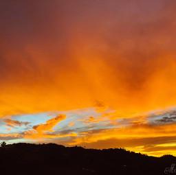 sunset nature photography sky goldenhour freetoedit