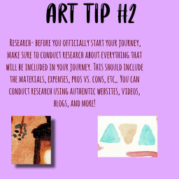 arttips research painting art excitingnews