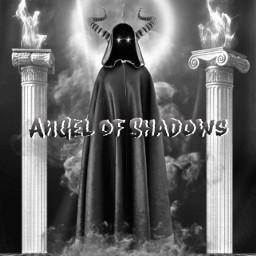 angel shadows 3d render horror concept collection series technikó