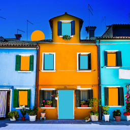 colorful houses architecture beautiful dreamy stayinspired vibes cosy cosyplace background evening windows madewithpicsart unsplash