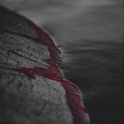 ocean red prety dark gray pop color grayscale black white and blackandwhite enjoy unsplash