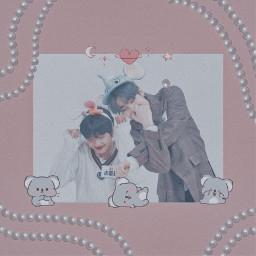 seungwoo dongpyo x1 seungpyo victon mirae uwu cute freetoedit