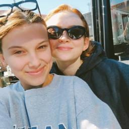 millsandsadie bestfriends 💜🧡 @stmilliebbrown