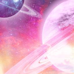 saturn planet planets galaxy galaxies planetbackground galaxybackground pink purple orange stars starsbackground solarsystem night sky nightsky aesthetic galaxyaesthetic aestheticbackground pinkgalaxy purplegalaxy nature sunset sunsetsky freetoedit