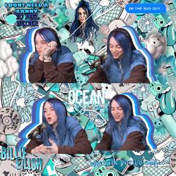 billieeilish blue freetoedit