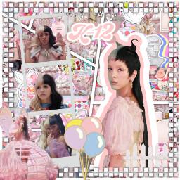melaniemartinez mel backround pink edit complex k afterschool melanie pinkaesthetic balloons fairy freetoedit