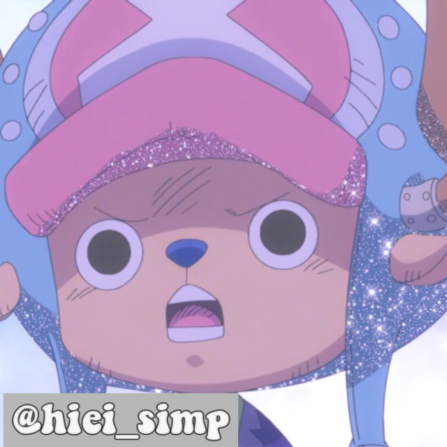 :) Chopper!    Anime: Tony Tony Chopper (One piece)   Comment 🐻❄️to join taglist! Comment 🐝if user changed! Comment🐳to leave!   Taglist: 🌧 @grayvibsx    Tags: #chopper #tonytonychopper #edit #glitter #hxh #icon #pfp #cute #reindeer #lol #myheroacademia #ah             oh hi.         Mood: 😢   Thinking.