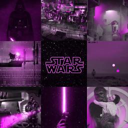 purple starwars maythe4thbewithyou leiaorgana lukeskywalker darthvader freetoedit