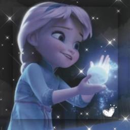 elsa disney disneybaby baby babyelsa frozen ice cute blue white black sparkles frozen2 thesisters oldersister adorable edit cuteedit socute winter freetoedit