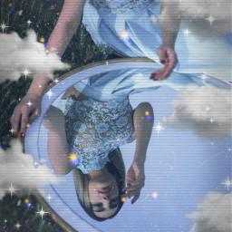 remixit glitch girl freetoedit remix aesthetic black heart blackheart mirror blackaesthetic blue yellow iphone emoji iphoneemoji iphonesticker heartcrown crown cute sweet woman clouds sparkle glitter