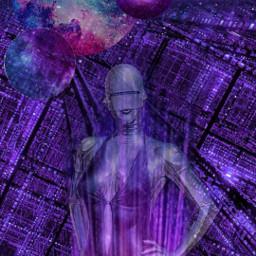 freetoedit esteticaroxa desafio challenge purpleworld ccpurpleaesthetic scifi