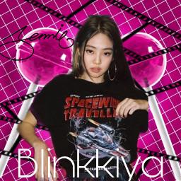 fyp music kpop kimjennie bp blackpink bts blackandwhite freetoedit