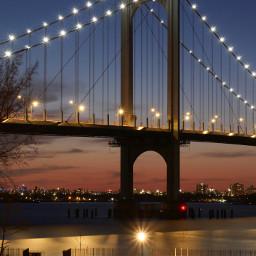 freetoedit bridge lights sparks sparkles highend nightphotography structure architecture different