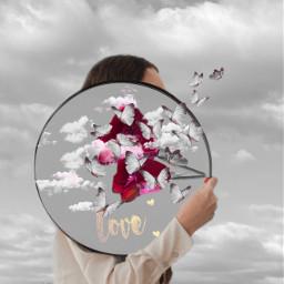 skybackground colorsplash stickers fiteffect love ircgirlwithamirror girlwithamirror freetoedit