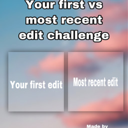 game challenge firstedit recent firstvsrecentedit fun freetoedit