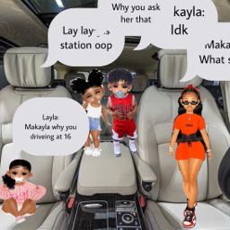 car makayla drivejng at age 16 freetoedit