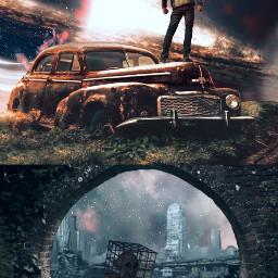 interesting fantasyart fantasy surrealism replay freetoedit remixed