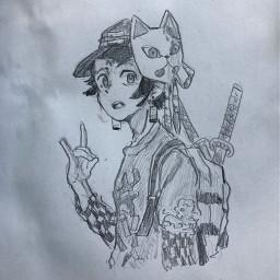 art demonslayer drawing fanart