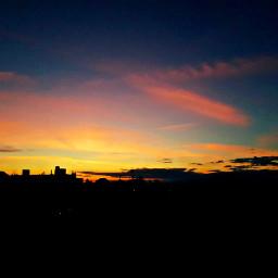 sunrise sun sky skyline neighborhood sunrisephotography morning picsart picturebyme freetoedit